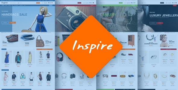 Inspire - Responsive Multipurpose HTML5 Template - Shopping Retail
