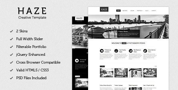 Haze - Beautiful HTML Template - Creative Site Templates