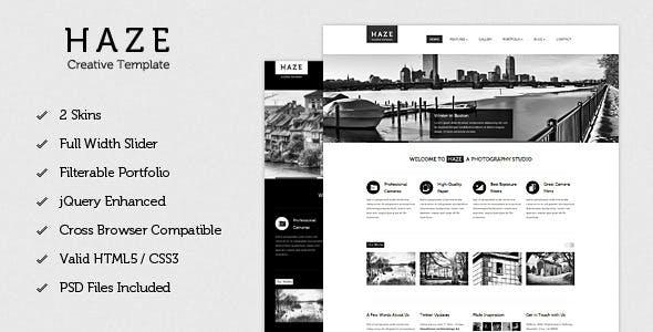 Haze - Beautiful HTML Template
