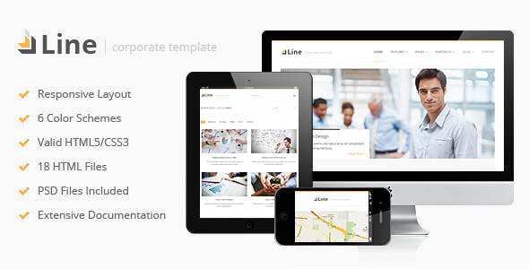 Line - Responsive Corporate HTML Template