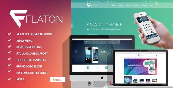 Flaton - Responsive Prestashop Digital Theme - Technology PrestaShop