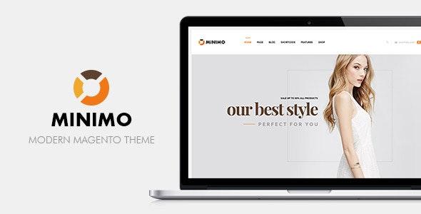 Ves Minimo Multipurpose Responsive Magento Theme  - Shopping Magento