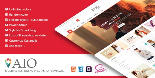 SNS AIO - Responsive Prestashop Theme - Shopping PrestaShop