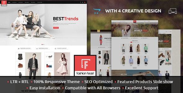 Fashion Feast - Opencart Responsive Theme - Fashion OpenCart