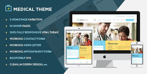 Health & Medical Responsive HTML Template - Health & Beauty Retail
