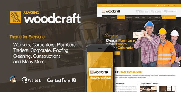 Carpenter | Business WordPress Theme