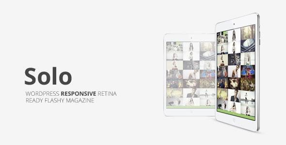 Solo, Grid Responsive Multipurpose Magazine - News / Editorial Blog / Magazine