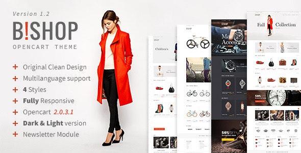 Bishop | Opencart Responsive Theme - Shopping OpenCart