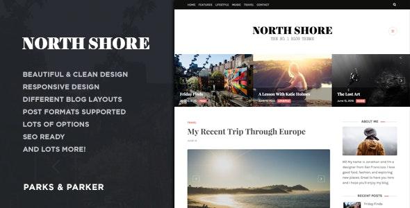 North Shore - A Responsive WordPress Blog Theme - Personal Blog / Magazine