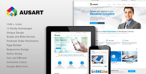 Ausart - Multipurpose Business Template - Business Corporate