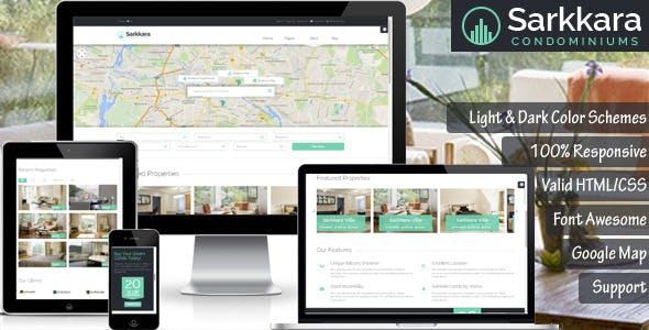 Sarkkara - Modern Real Estate HTML5 Template