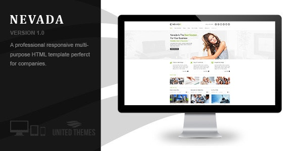 Nevada - Responsive HTML Template - Business Corporate