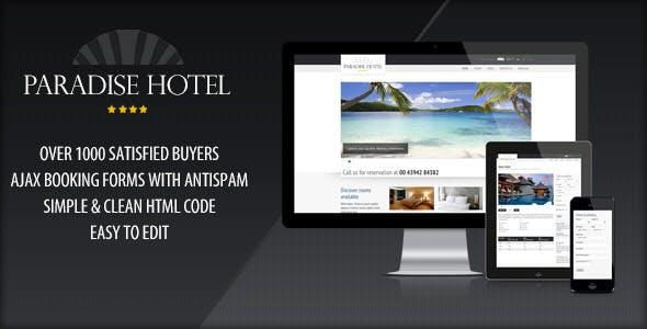 Responsive Paradise Hotel