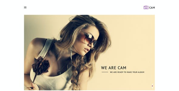 CAM | Minimal MultiPurpose PSD Template
