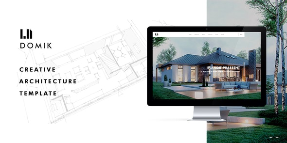 Domik - Creative Responsive Architecture WordPress Theme - Business Corporate