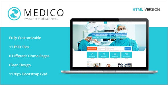 Medico -Medical & Health HTML5 Template