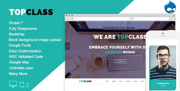 TopClass - Multipurpose Business & Corporate Theme - Business Corporate