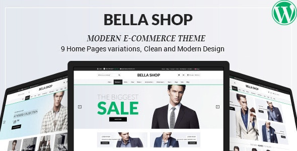 Bella - eCommerce Shop WordPress Theme - WooCommerce eCommerce