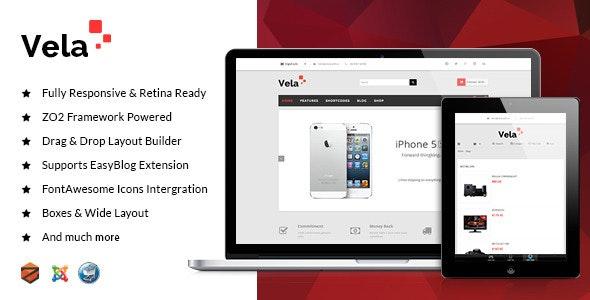 ZT Vela Powerful VirtueMart Template - Joomla CMS Themes