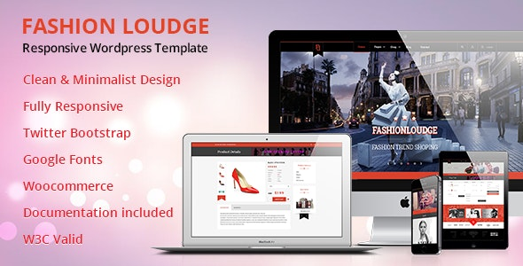 Fashion Loudge - WordPress Theme - WooCommerce eCommerce