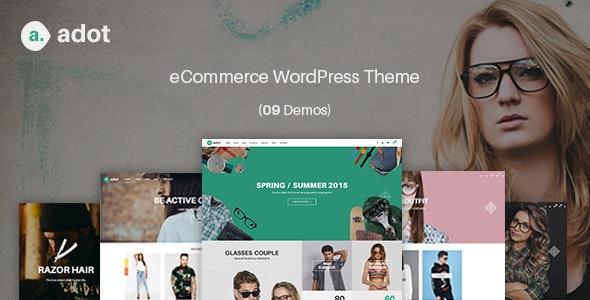 eCommerce WordPress Theme - adot - WooCommerce eCommerce