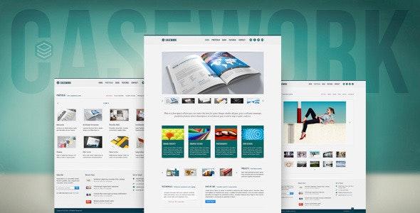 Casework - Design Studio Portfolio & Blog Template - Portfolio Creative