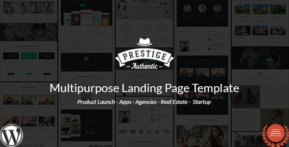 Prestige - Multi Purpose WordPress Landing Pages - Marketing Corporate