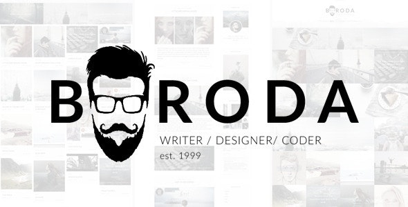 Boroda - Personal Blog WordPress Theme - Personal Blog / Magazine
