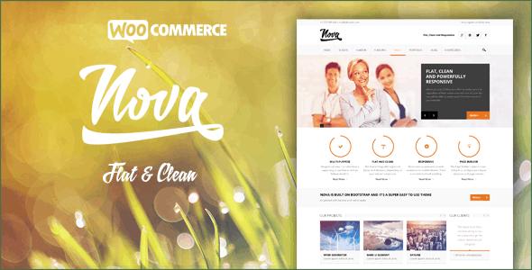 Nova - Flat & Clean Responsive Theme - Business Corporate