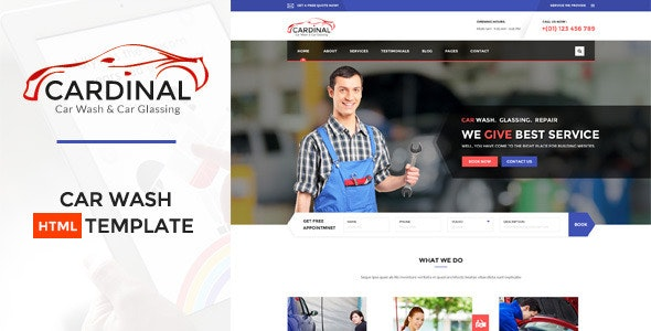 Car dinal - Automotive HTML Template - Business Corporate
