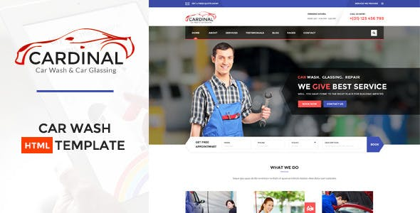 Car dinal - Automotive HTML Template