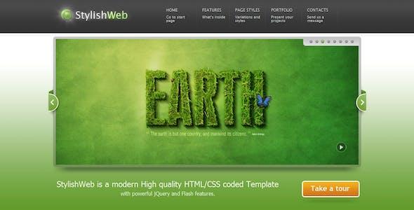 StylishWeb | Modern High Quality HTML/CSS Template