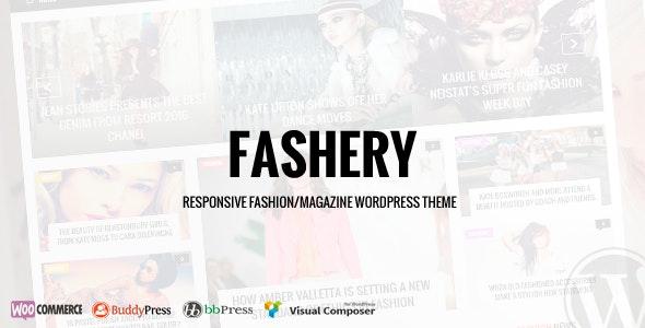 Fashery - Fashion/Magazine WordPress Theme - Blog / Magazine WordPress