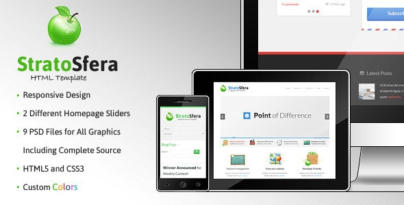 StratoSfera - Responsive WordPress Theme - Creative WordPress