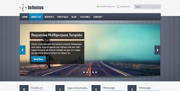 Infinitus : Responsive HTML5 Business Template