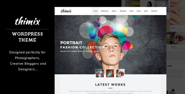 Thimix Creative Portfolio / Photography WP Theme - Photography Creative