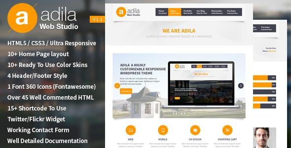 Adila: Multipurpose Business HTML Template