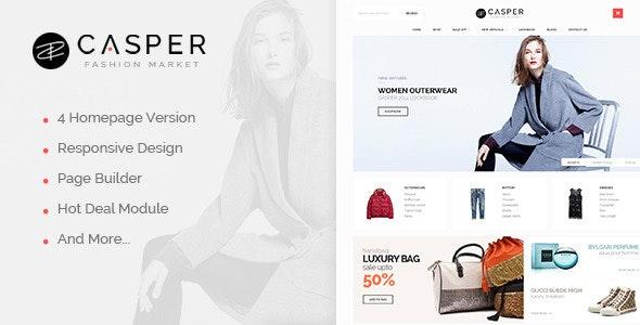 Ves Casper Responsive Magento Theme - Shopping Magento
