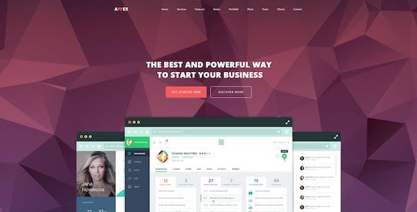 AppEx - Responsive Multi-Purpose Apps Landing Page