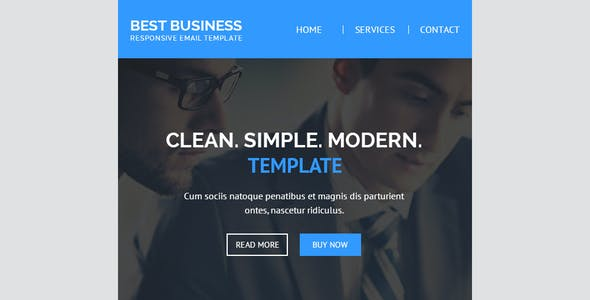 Best Business Responsive Email + Builder Access