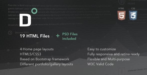 Direct - Corporate HTML Template - Business Corporate