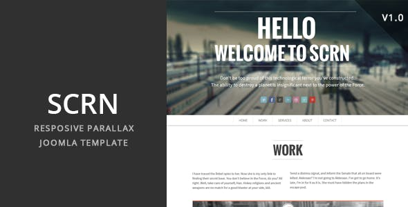 SCRN - Responsive Parallax Joomla Template by cththemes
