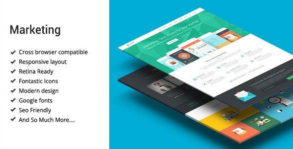 Marketing - Startup Landing Page Template - Marketing Corporate