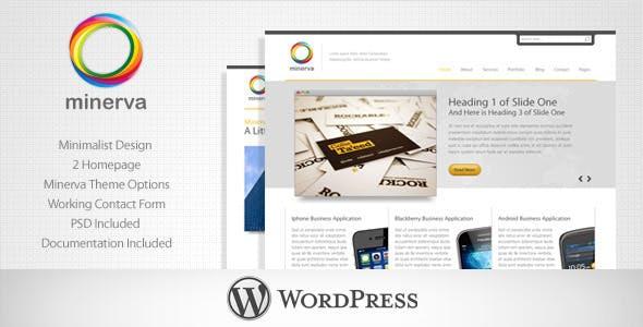 Minerva - Minimalist Business WordPress Theme