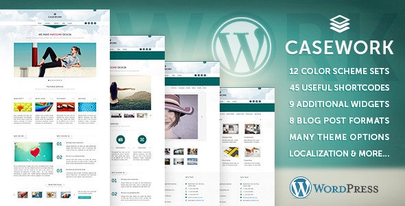 Casework WP - Design Studio Portfolio & Blog Theme - Portfolio Creative