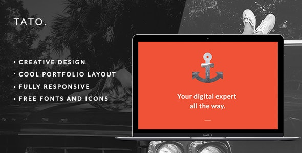 TATO - Portfolio & Agency Theme - Portfolio Creative
