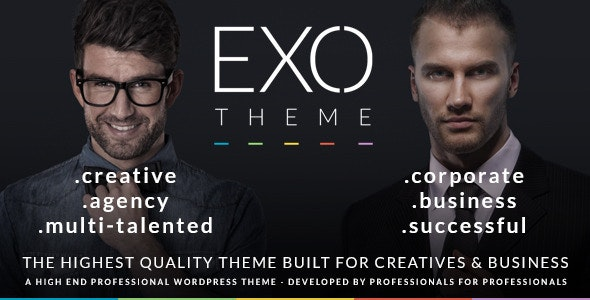 EXO | Creative & Corporate Specific Purpose Theme - Business Corporate