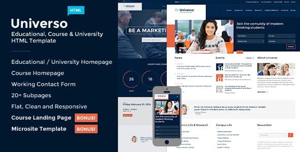 Universo - Courses, Events, Education & University