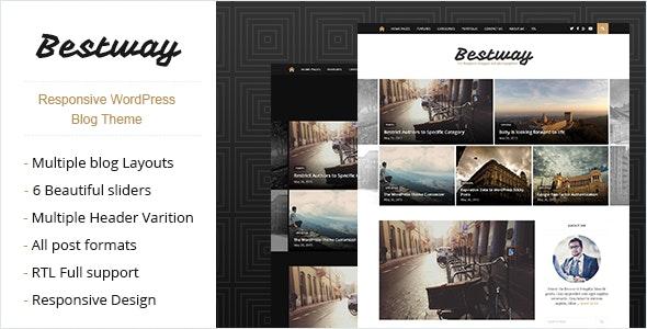 Best Way - Responsive WordPress Blog Theme - Personal Blog / Magazine