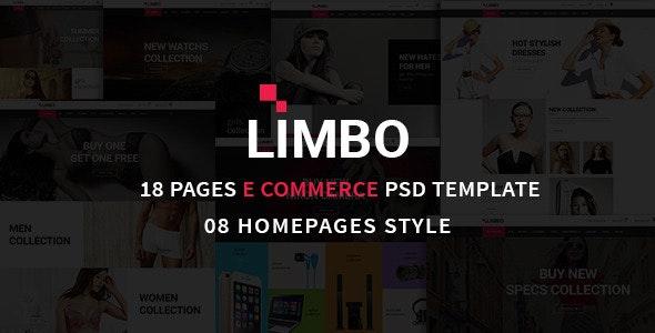 Limbo eCommerce PSD Template - Fashion Retail